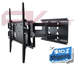 PLATINUM Dual Arm Full Motion Wall Mount 42