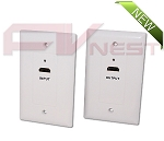 HDMI over CAT5E / CAT6 Extender Wall Plate (Pair)