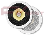 "8"" Kevlar 2-Way High Power In-Ceiling Speakers (Pair) - 160W"