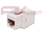 CAT 6 Inline Coupler Type Keystone Jack
