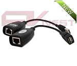 USB Extender over Cat 5e/6 RJ-45 Ethernet Cable
